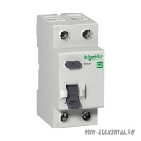 УЗО Schneider Electric EASY 9 2P 25A 10mA