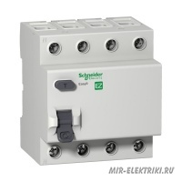 УЗО Schneider Electric EASY 9 4P 25A 30mA