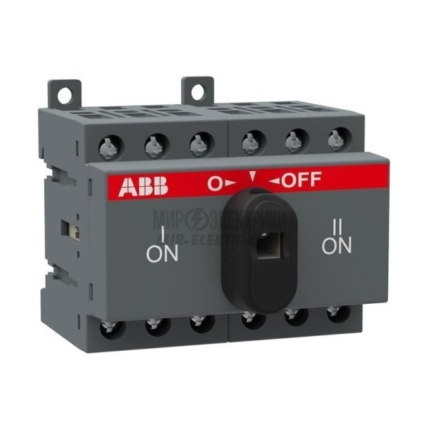 Рубильник реверсивный ABB OT 16F3C